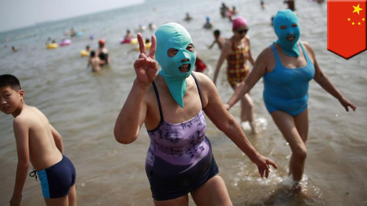 """The Other White Meat:  Stupid Ass Asians """"Face-Kini"""""""