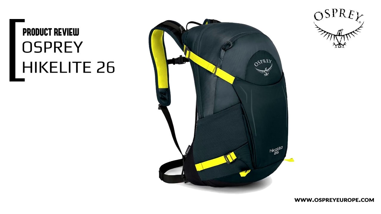 eb3a5b8bb1f Product review: Osprey Hikelite 26 - OutdoorInfo Magazine | Alles over  actief outdoor