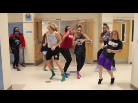 Fulton County Lady Pilots Running Man Challenge