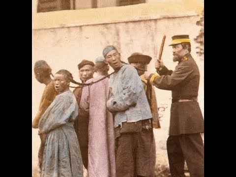 Colorized Occupational Photos of People in Shanghai, China (1870's)