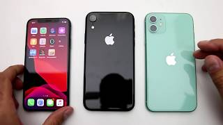 iPhone 11 vs. iPhone Xr vs. iPhone X Performance Comparison (S3-E3)