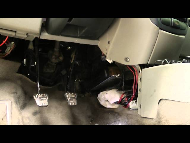 замена радиатора печки на калине без снятия торпеды и рулевой колонки