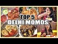 BEST Momos In DELHI #QuirkyEats Ep.1