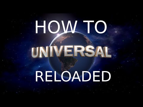 How To Make You Own Universal Studios Intro In Blender - RELOADED