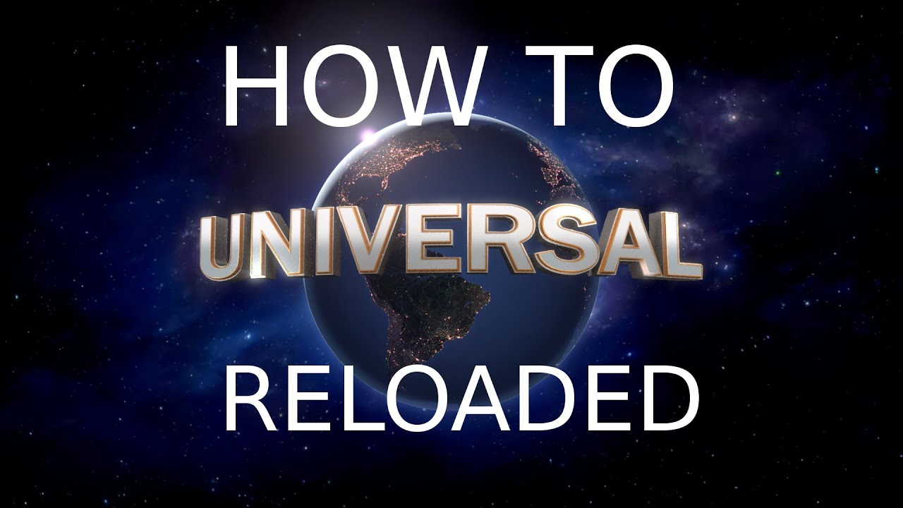 How To Make You Own Universal Studios Intro In Blender Reloaded Youtube