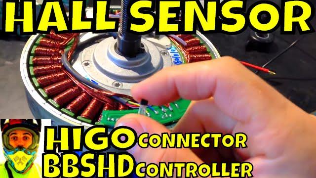 Hall sensor replaced on MAC hub motor + tests with Bafang BBSHD controller  • EM3EV Australia support