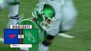 SMU vs North Texas Football Highlights (2018) | Stadium