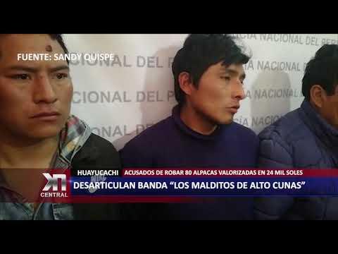 """DESARTICULAN BANDA """"LOS MALDITOS DE ALTO CUNAS"""" POR ABIGEATO"""