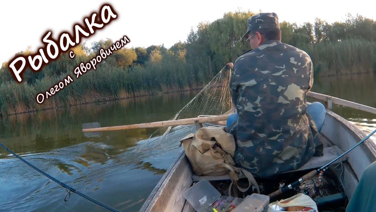 летняя рыбалка на канале