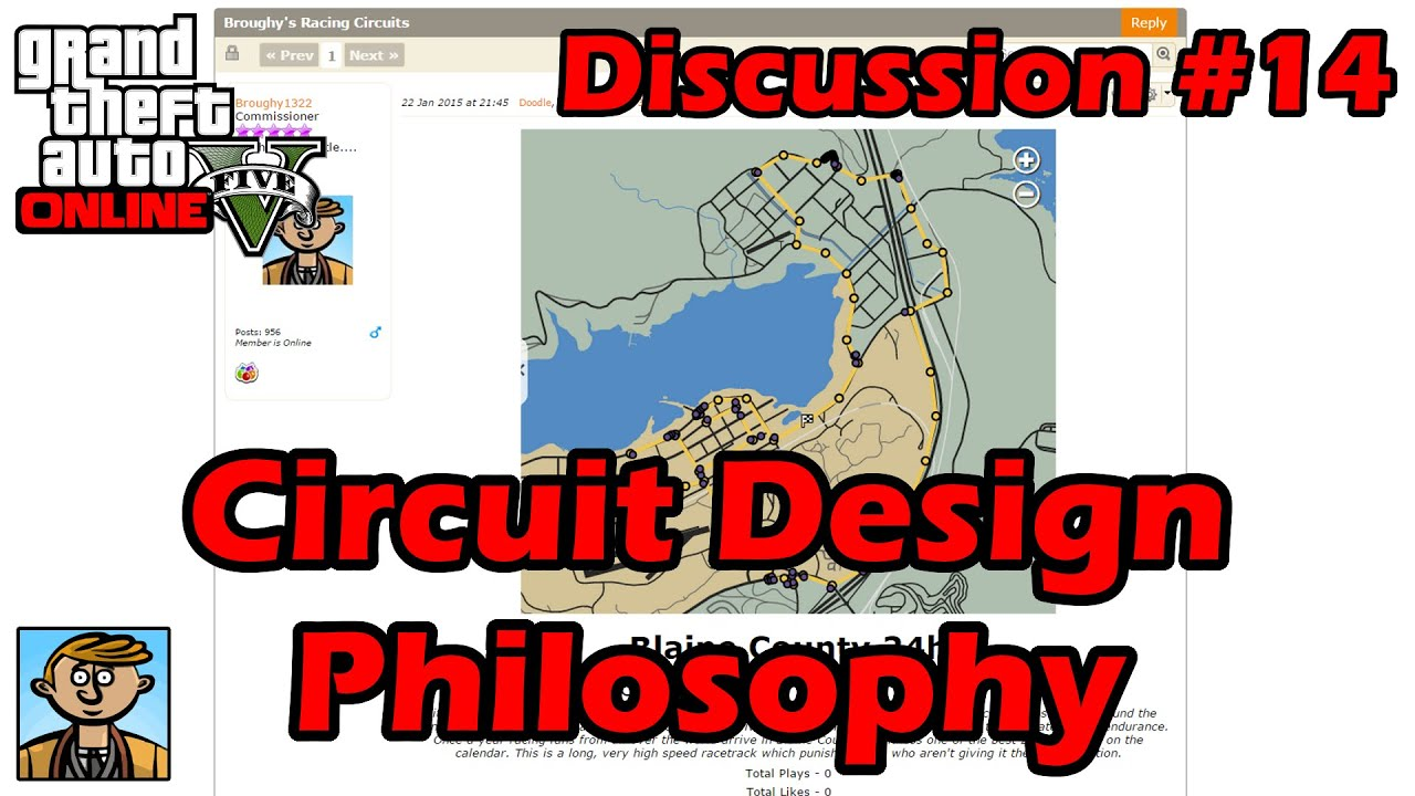 Circuit Design Philosophy Gta Discussion 14 Youtube Online