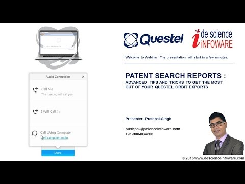 QUESTEL ORBIT : Patent Search Report - Export