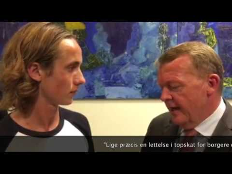 Lars Løkke Rasmussen interview