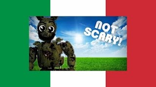 How to make FNaF 3 not scary [ITA]