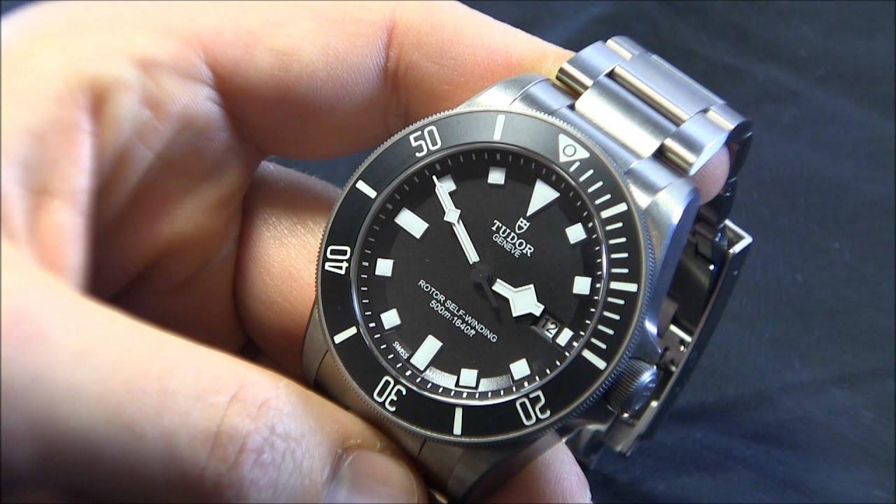 Tudor pelagos watch review doovi - Tudor dive watch price ...