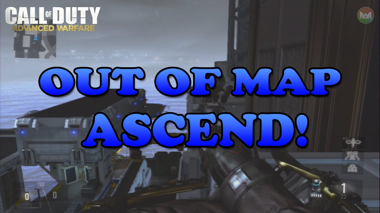 Cod Advanced Warfare - Out Of Map Ascend!  (COD 2014)
