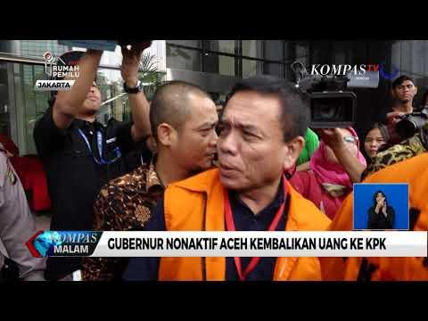Gubernur Nonaktif Aceh Kembalikan Uang ke KPK