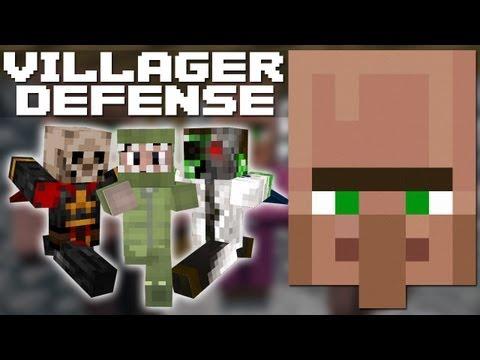 Minecraft: Village Defense w/ Doc, BTC & Friends - Part 2