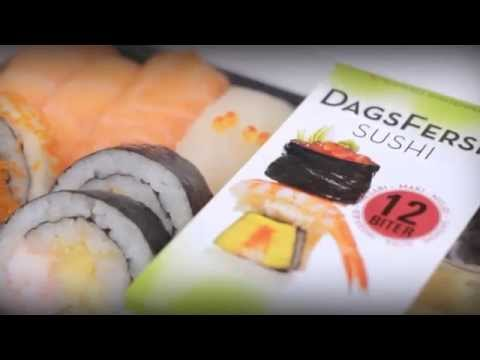 Premium sushi box. Video advert for Sushi Factory in Oslo