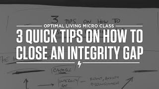 3 Quick Tips on How to Close an Integrity Gap Thumbnail