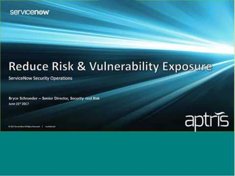 Resolve Security Threats Fast with Aptris and ServiceNow