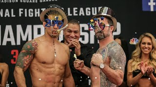 Every PFL Sean O'Connell Weigh-In | Professional Fighters League
