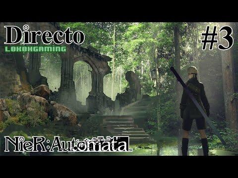 NieR: Automata - Directo 3# - Español - Modo Dificil - Amigo de las Máquinas  - 60fps - Ps4 Pro