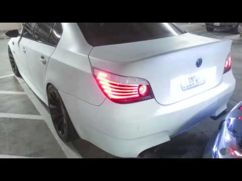 E60 Bmw M5 Plasti Dip From Black To Matte White Youtube