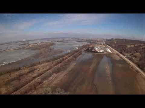 Historic Flooding Pacific Junction Iowa 2019