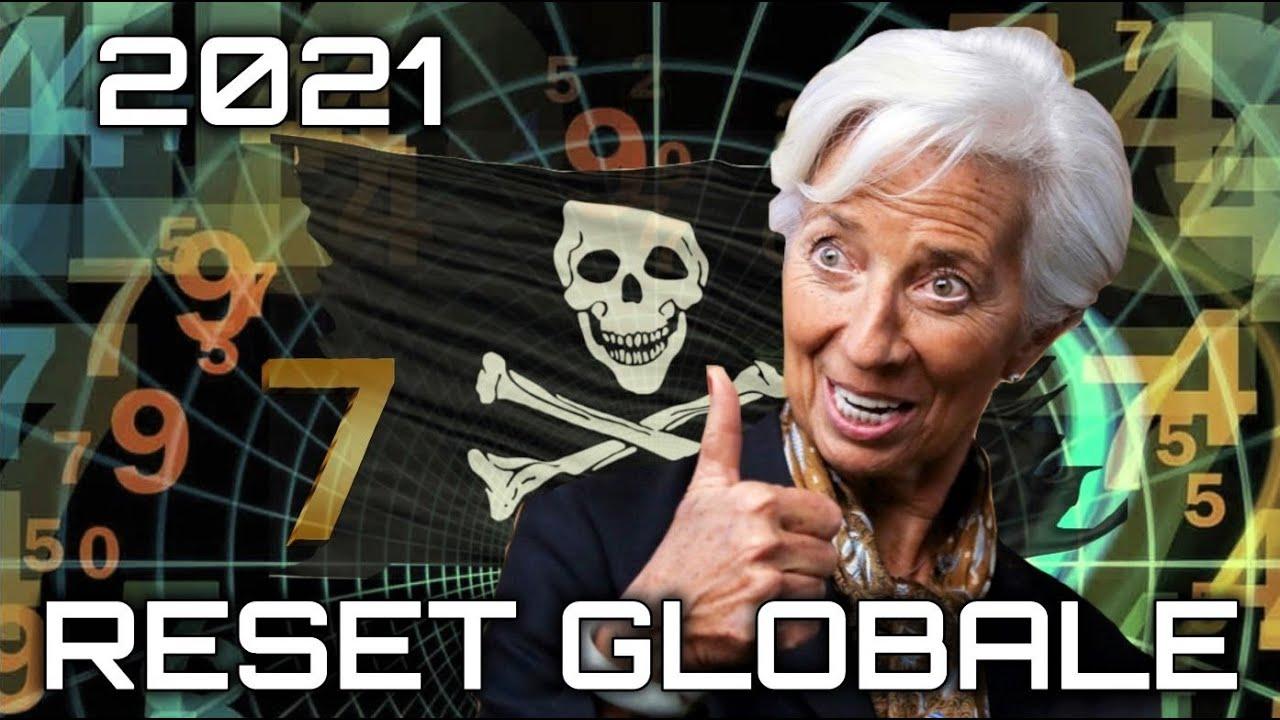 Christine Lagarde sul RESET GLOBALE NEL 2021 + Origini del VESSILLO PIRATA