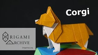 Origami Corgi Clear Instructions