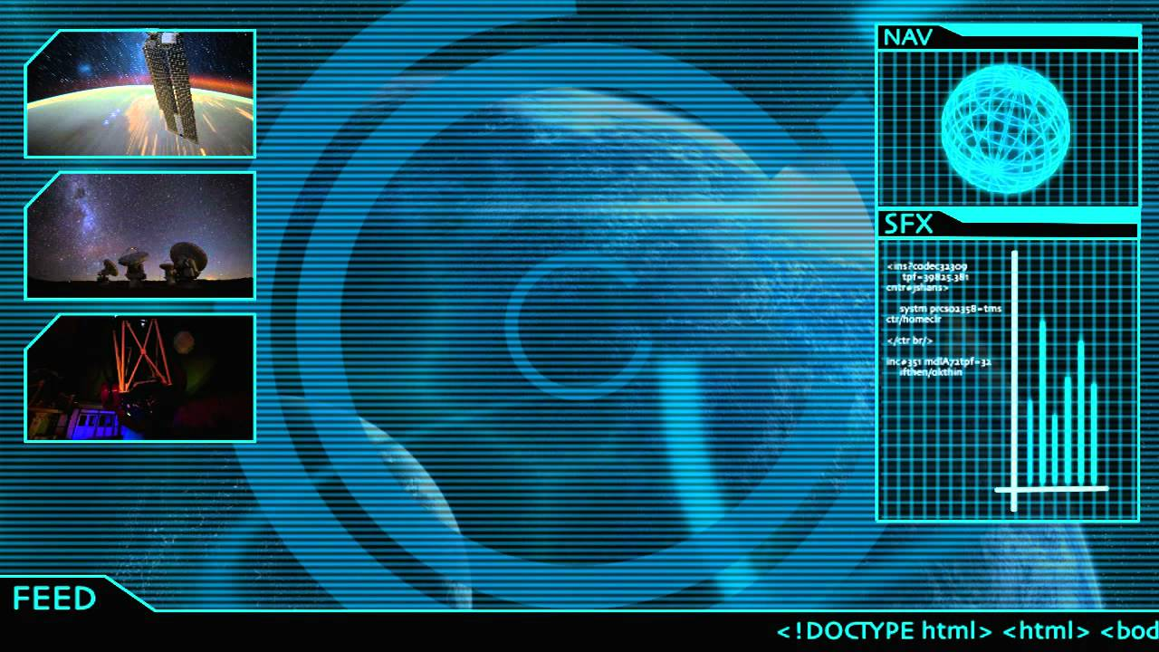 Sci-fi Animated Interface by DannRoch on DeviantArt