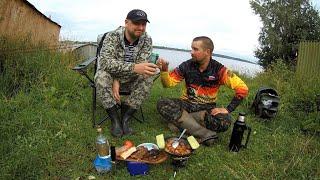 Рыбалка на Карельском озере на котором не возможно не поймать рыбу)18+