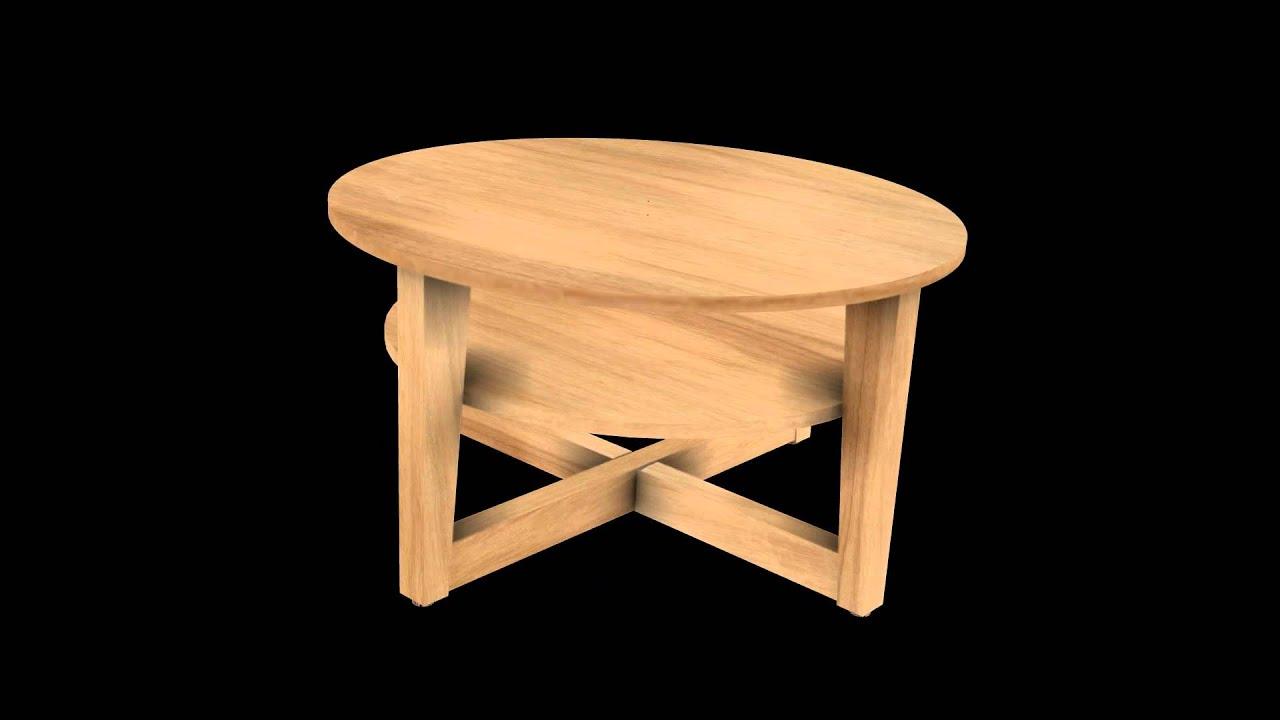 Vejmon Coffee Table Turn