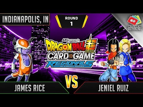 Dragon Ball Super Card Game Gameplay [DBS TCG] Indianapolis Regional Round 1