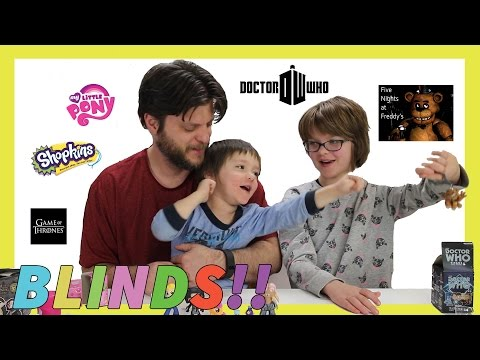 Opening Surprise Blinds (Minion Vlog) Shopkins, MLP, Doctor Who, FNAF Fallout Day 971   ActOutGames
