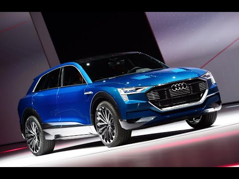 Audi Q6 E Tron   New Electric SUV At Frankfurt 2015. Auto Express