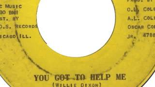 Little Mack Simmons - You Got To Help Me (Dud Sound 4718)