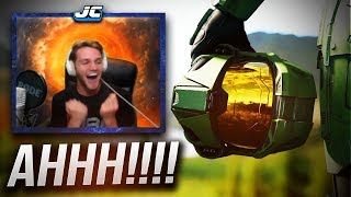 HALO INFINITE REACTION... Grown Man Physically Loses It. (
