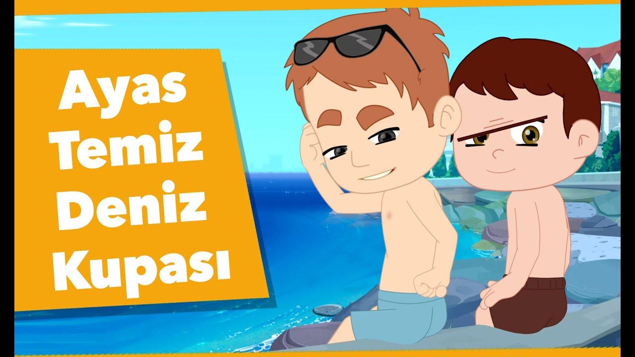 RGG Ayas - Temiz Deniz Kupası - Çizgi Film | Düşyeri