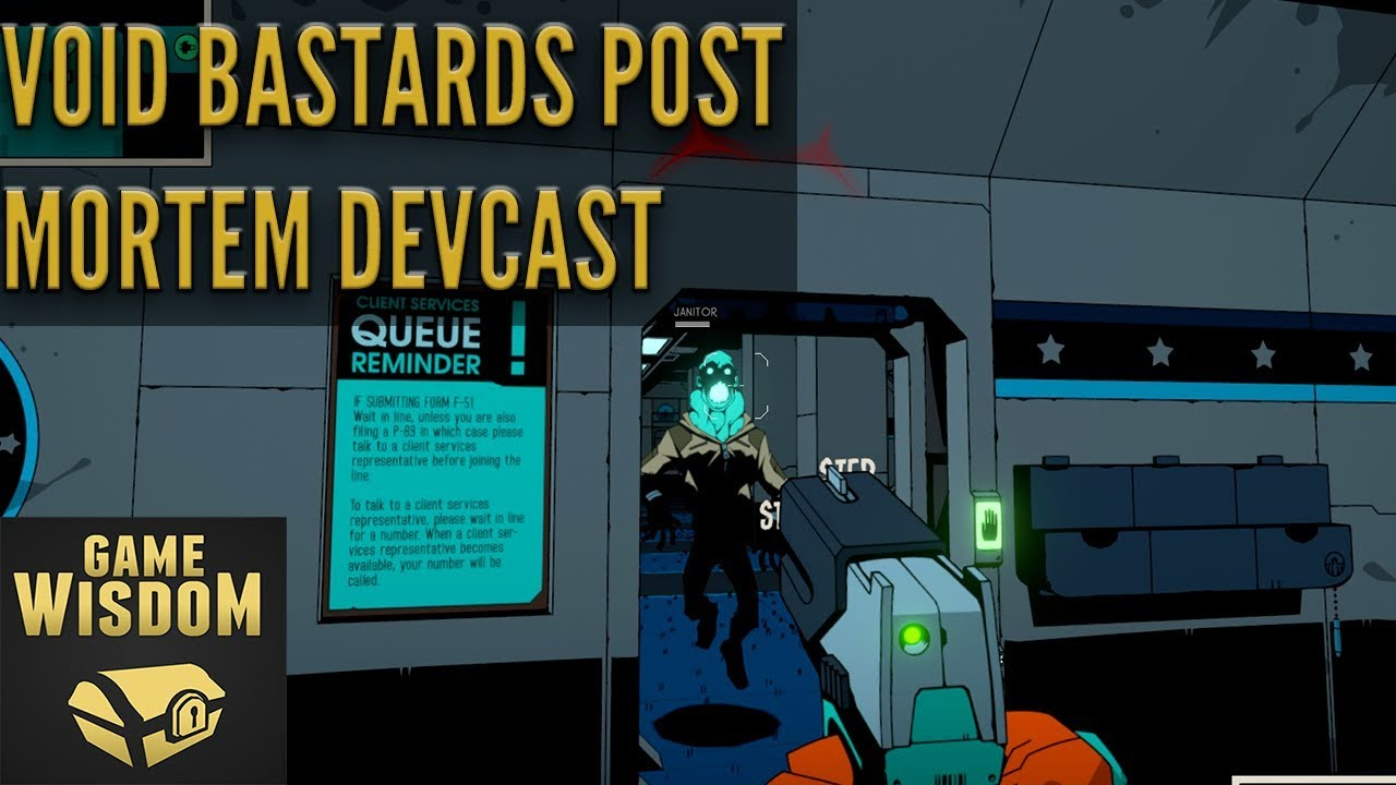 A Post Mortem Game Design Discussion on Void Bastards | Perceptive Podcast