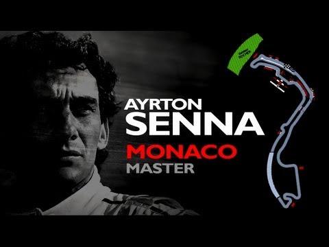 Ayrton Senna - The Monaco Master - Tribute 2013