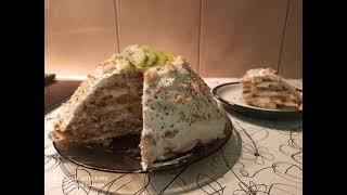 Потрясающий ТОРТ без выпечки из пряников за 15 минут Очень нежный Торт Без Выпечки с бананом