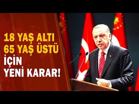 Başkan Erdoğan Açıkladı! 18 Yaş Altı ve 65 Yaş Üstü Yasak Kalktı Mı? Sinemalar A