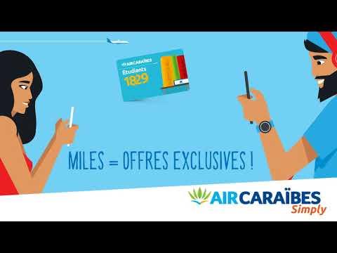 Air Caraïbes lance la carte 18-29 ans !