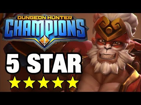 OMG! Our First 5 STAR SUMMON! + 750 GEM PREMIUM PACK OPENING - Dungeon Hunter Champions #10