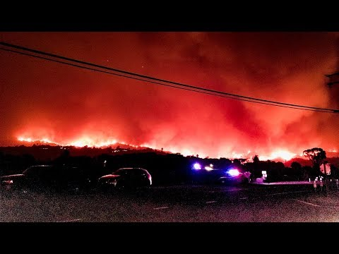 LIVE: NewsChannel 3 continued coverage of the Thomas Fire Coverage with Closed Captioning