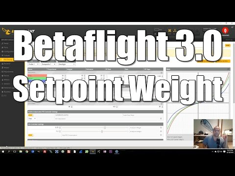 Betaflight 3.0 Setpoint Weight (2DOF PID Controller)