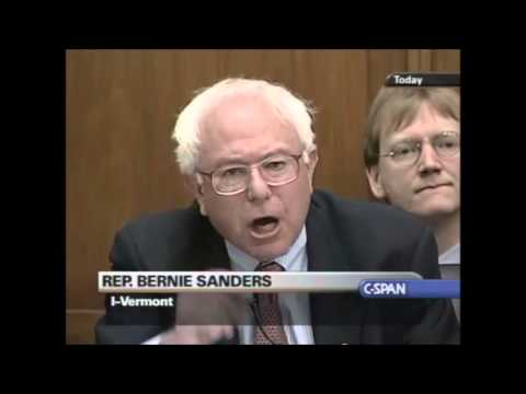 Bernie Sanders vs  Alan Greenspan Best Video Quality