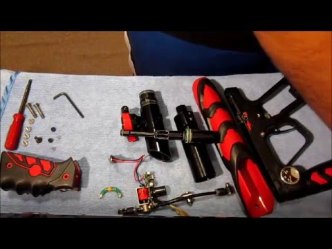 How To Clean Your ION Paintball Gun DIY Part 2!!! :D