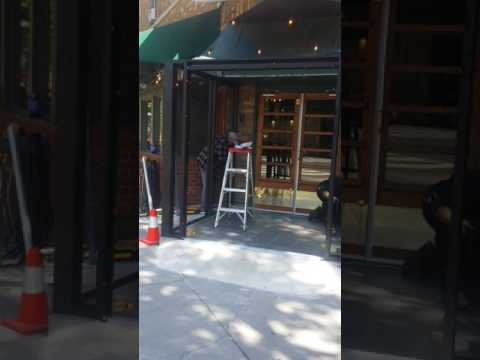 Agc glass contractors . Store front vestibule